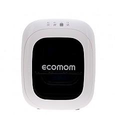 에코맘 젖병소독기  ECO-33 화이트(White) 램프+칫솔걸이